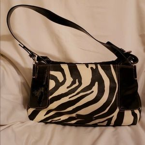 Nine & Co Handbag Giraffe Print